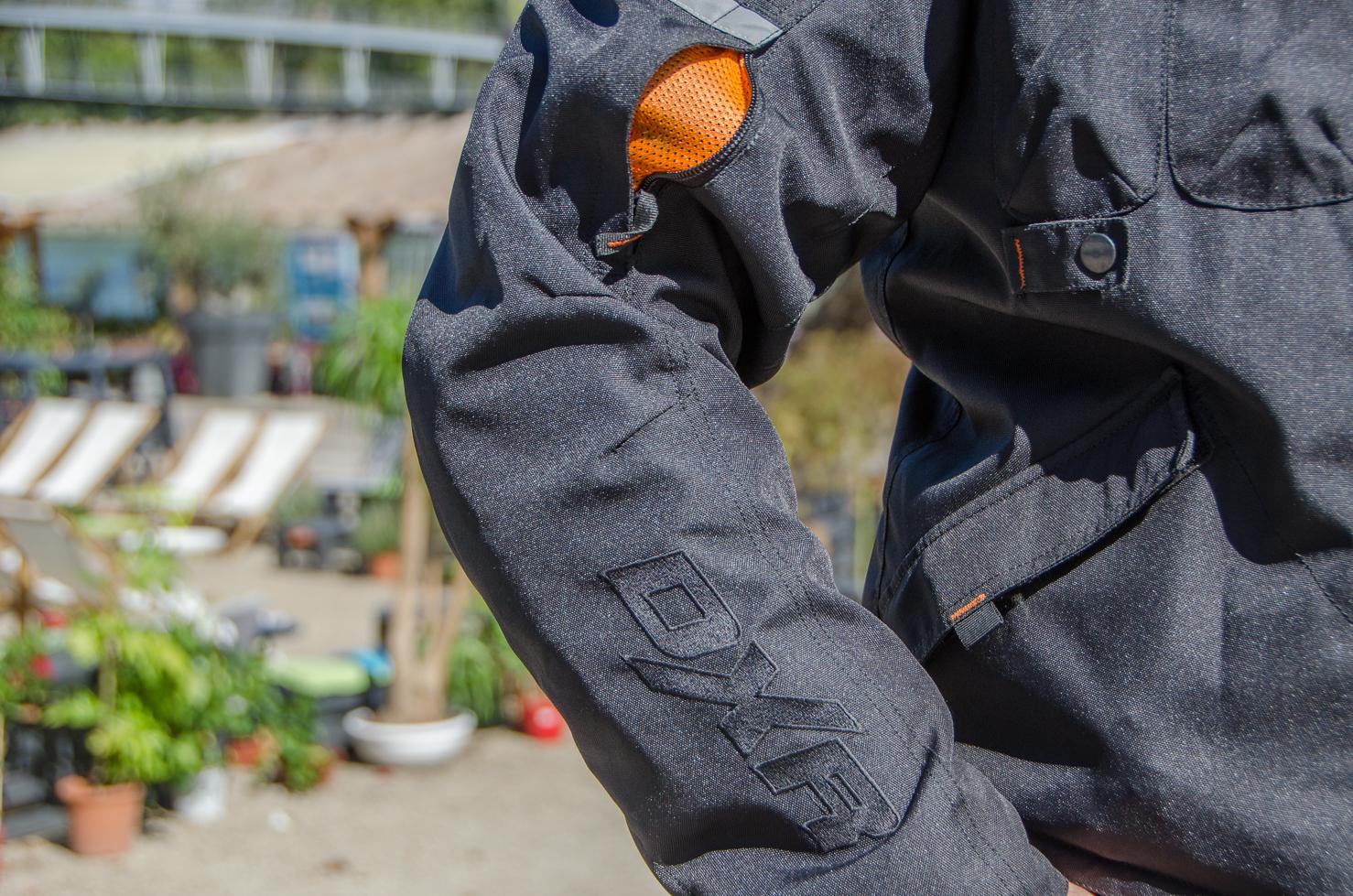 bolsillos chaqueta moto d jacket