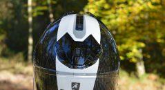 casco moto recepcion aire frontal