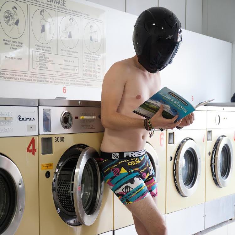 Equipamiento moto lavarropas