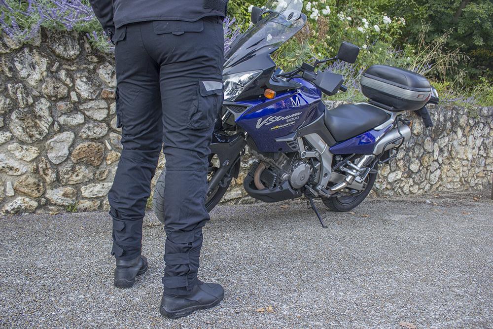 pantalon moto dxr relax vista detras