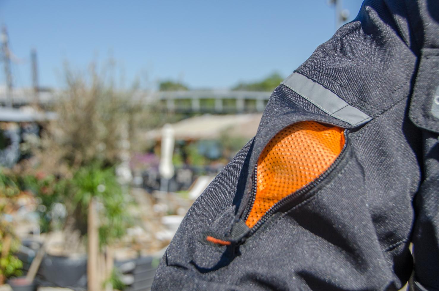 ventilacion manga chaqueta