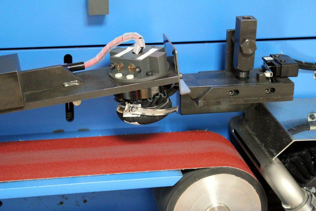 Detalle maquina test abrasion