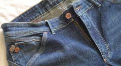 Cremallera pantalones presión bolsillo