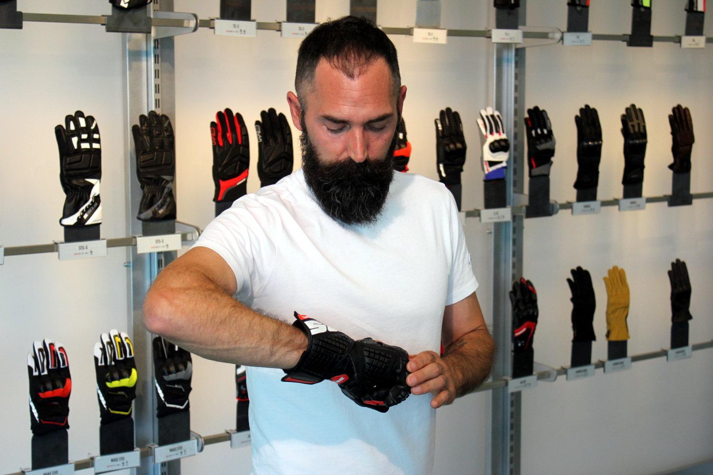 Emiliano Buzacchi, designer Spidi