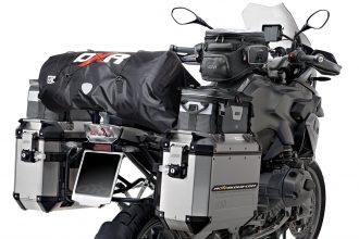 Con o sin bastidor, una bolsa de sillín puede reemplazar ventajosamente una caja superior