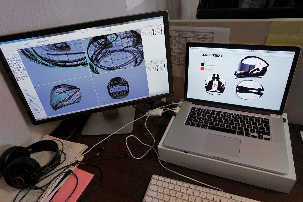 Percepcion trabajo 3D ordenador