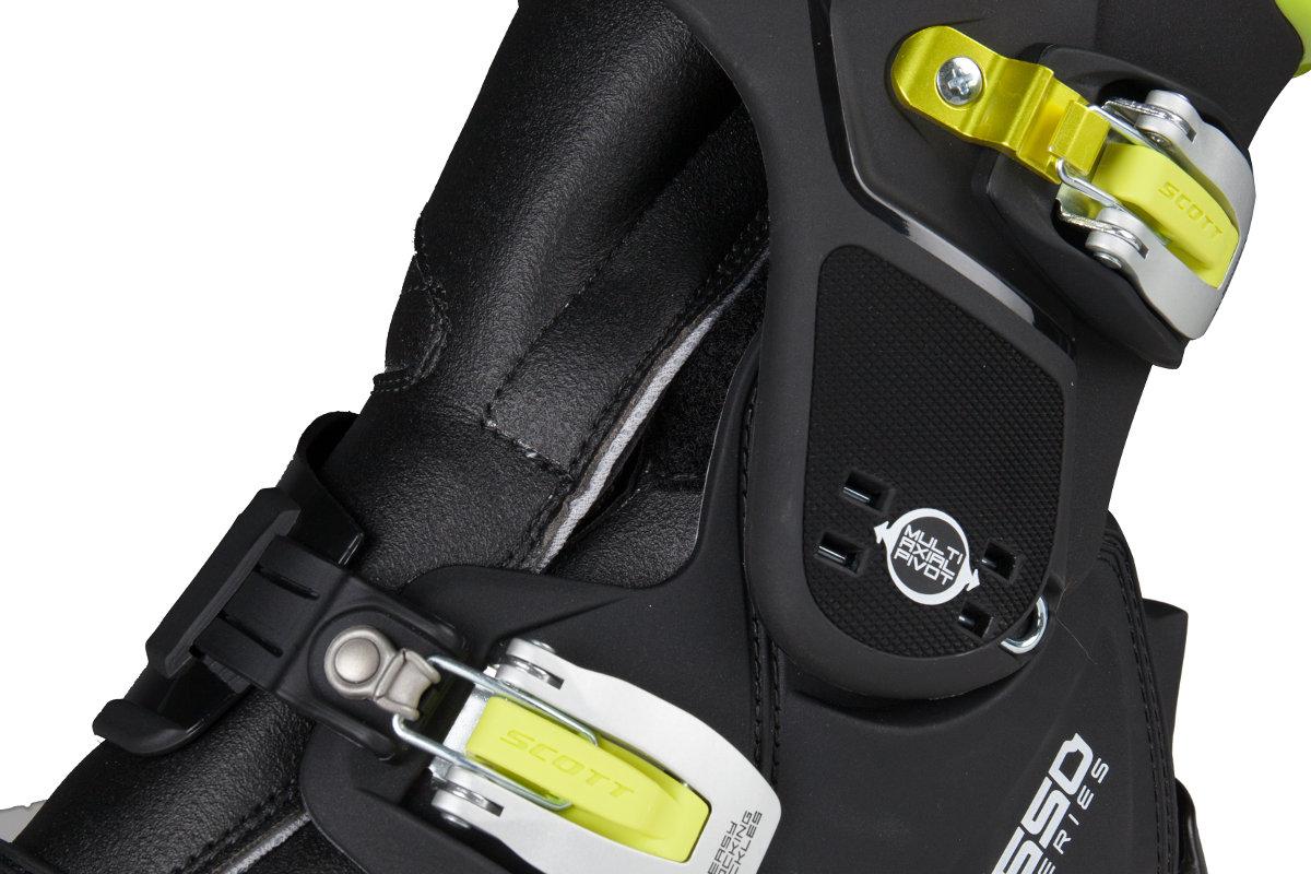 Los sistemas de protección de tobillo puede realizar un seguimiento de múltiples ejes para una ergonomía más natural