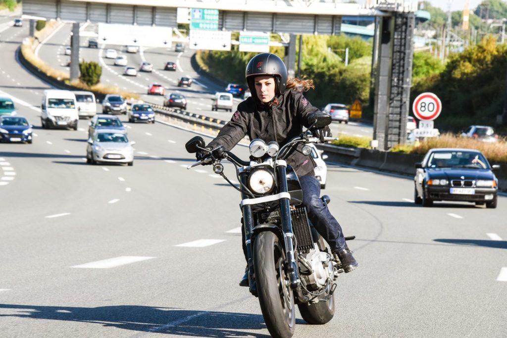 Atención en moto
