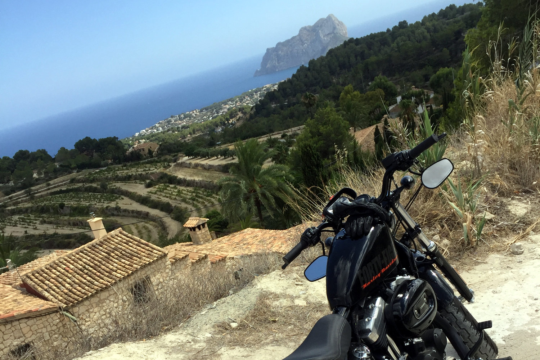 Espana moto valencia benissa