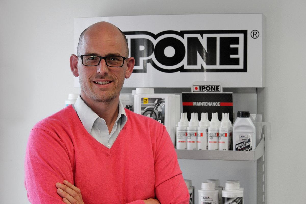 """Frédéric Olivier, Director de IPONE: """"Nuestra auténtica misión no es vender aceite para motos, sino más bien hacer que la gente se aficione"""""""
