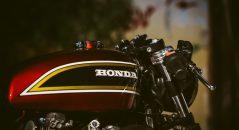Honda Hornet, depósito