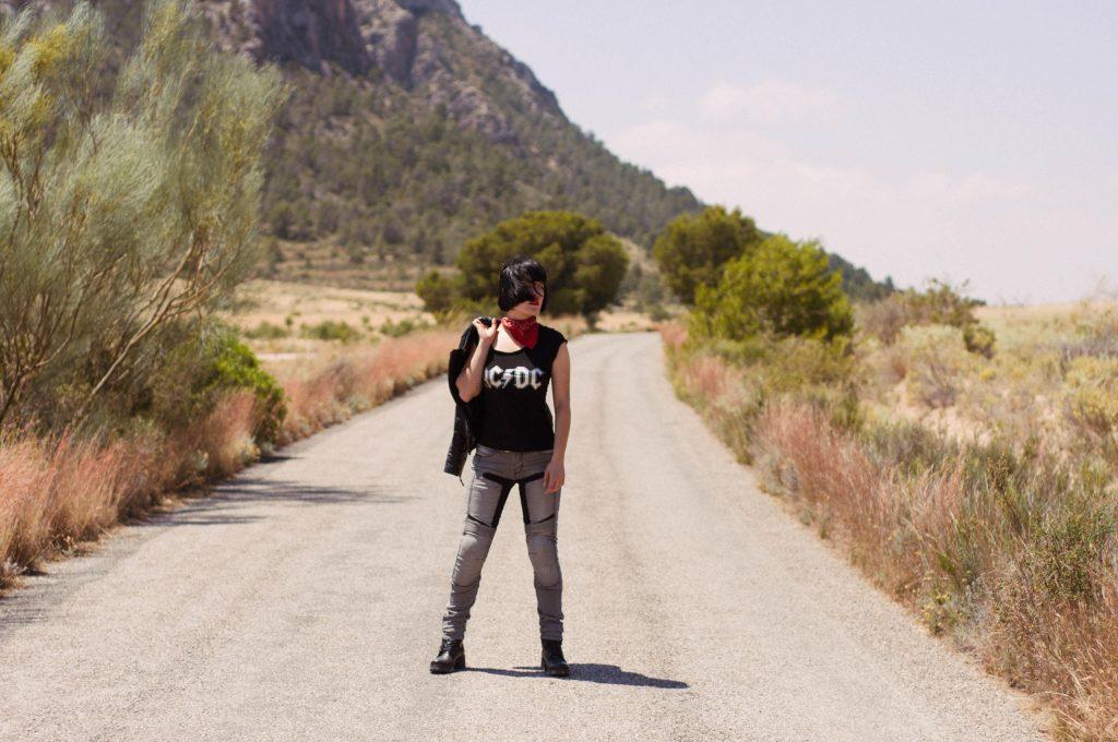 ruta moto andalucia pantalones DXR