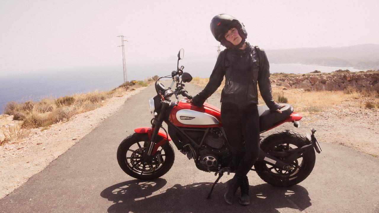 Chaqueta moto mujer DXR Diana