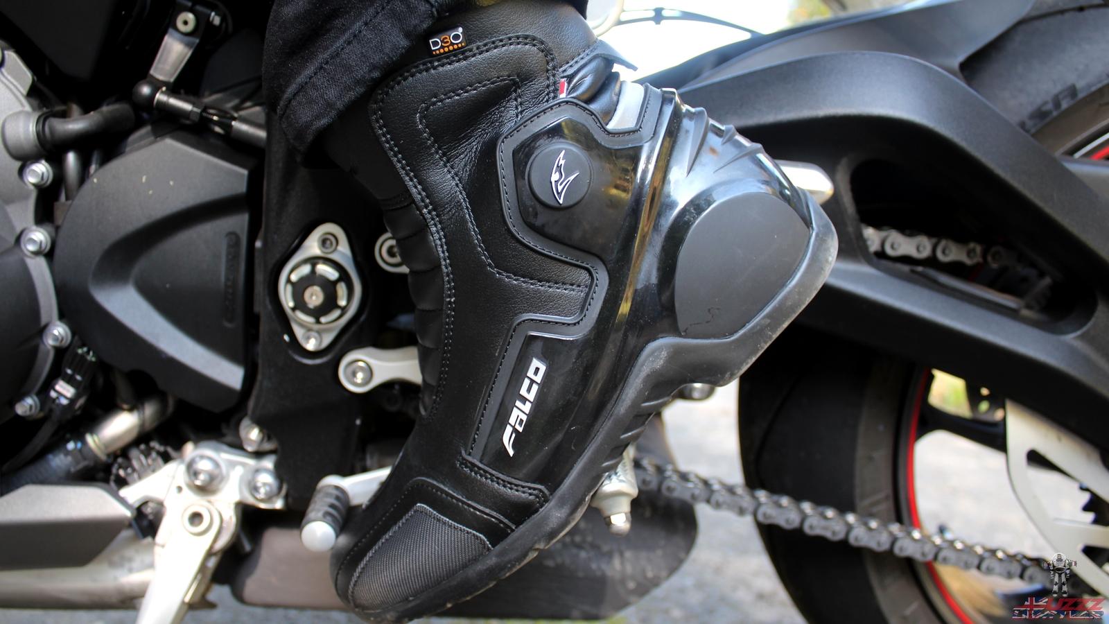 La mitad de las botas Falco Eje 2.1: un poco grueso, pero el agarre de la suela es excelente!