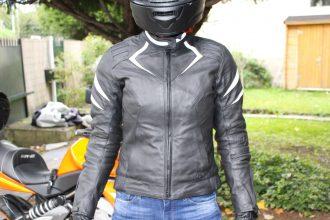 chaqueta de la motocicleta de la diva DXR Racer chaqueta roadster.