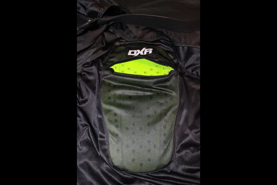 chaqueta de la motocicleta placa posterior roadster Mujeres diva Racer DXR