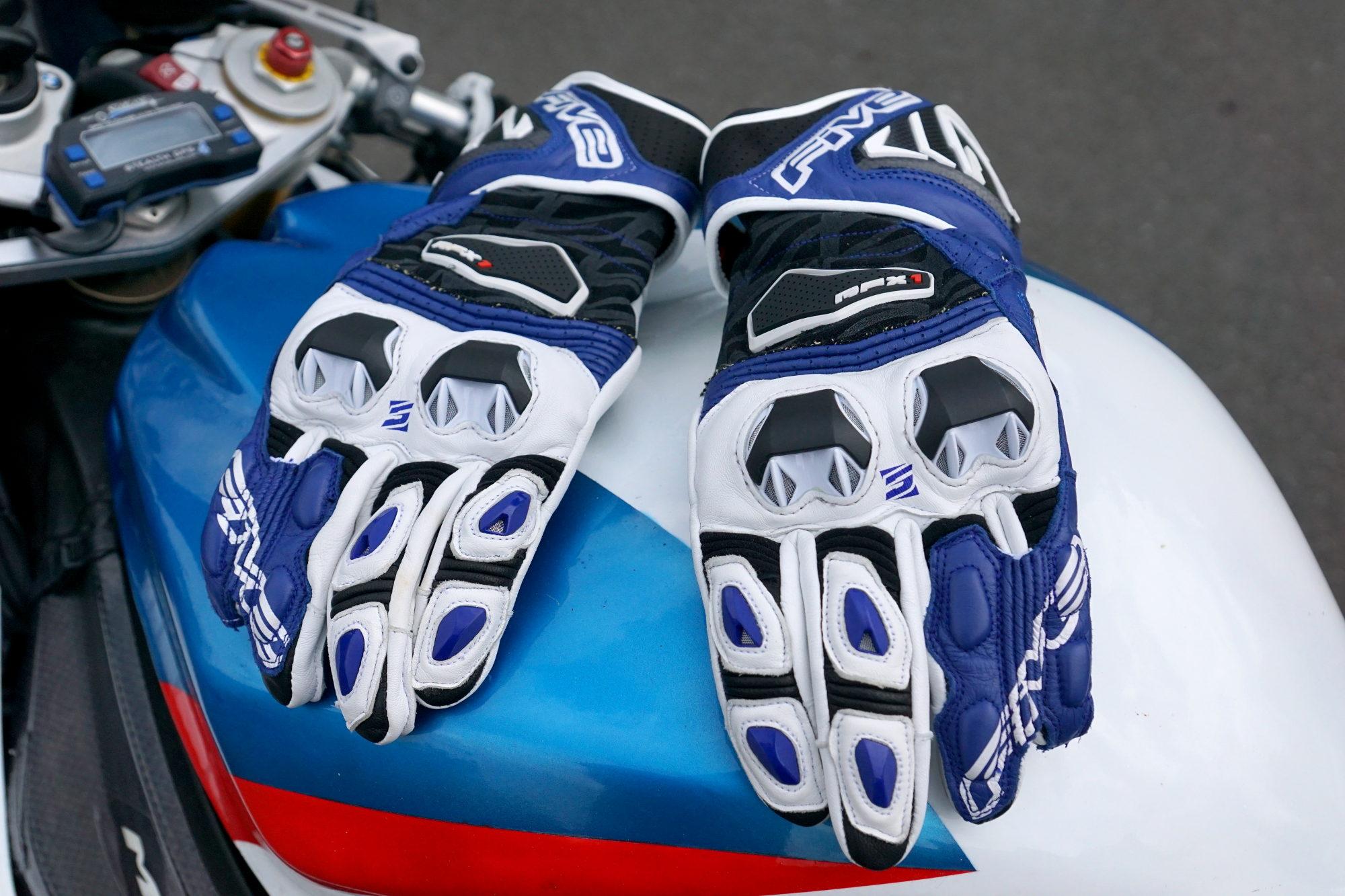 El Cinco de RFX 1, los guantes ofrecen el mejor ajuste de los que yo