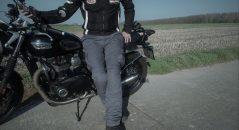 pantalones de la motocicleta DXR Rust