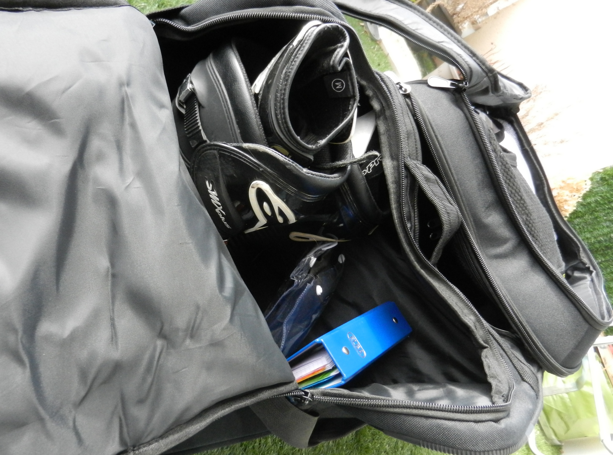 prov-bolsa de carga-bolsillo lateral botas