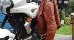 chaqueta de la motocicleta DXR Wilks