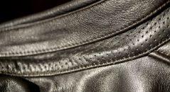 cuero perforado micro-cuero Helstsons Benji Fender