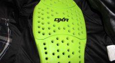 El DXR Back Protector CE posterior está disponible como una opción, pero por menos de 20 €