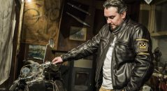 Mira la chaqueta de la vendimia garantizada con Helstons Benji Fender.
