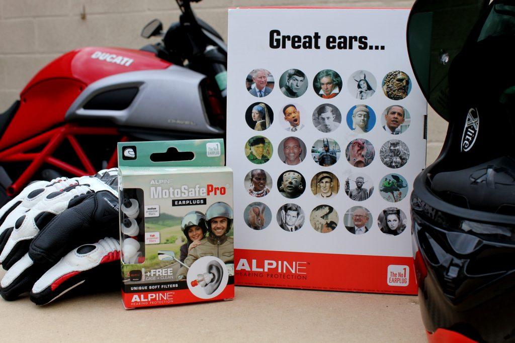 Kit de protección para los oídos Alpine Pro MotoSafe