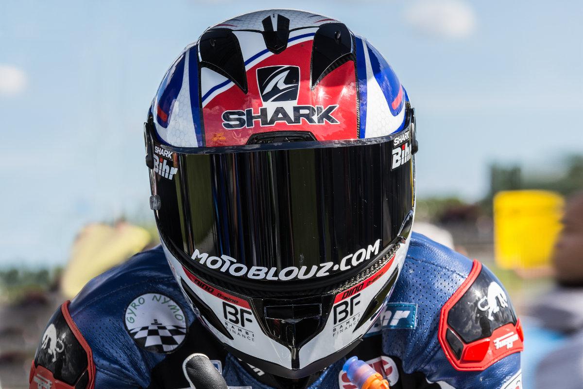 ¡El Shark Race-R Pro Carbon Skin sometido a la prueba de la pista con Axel Maurin!