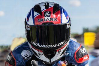 El Shark Race-R Piel Pro Carbon para probar la pista con Axel Maurin!