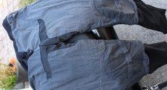 Forro de kevlar y algodón del pantalón vaquero para moto DXR Boost