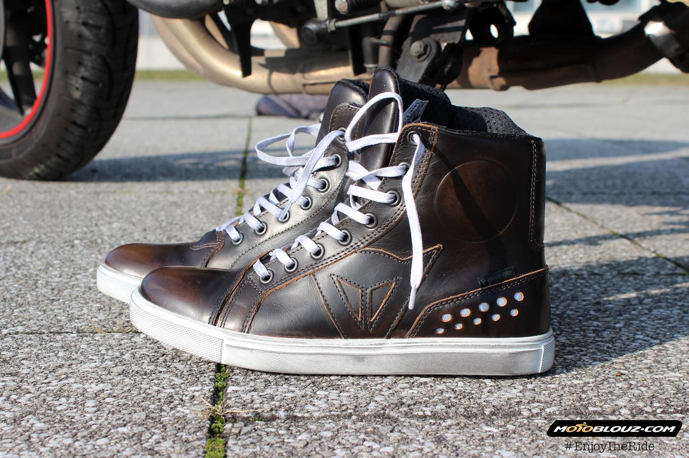 Las zapatillas Dainese Street Rocker son realmente cómodas: ¡como unas pantuflas!