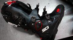 El sistema de articulación de las Sidi Crossfire 2 SRS ofrece unas sensaciones naturales desde el primer uso