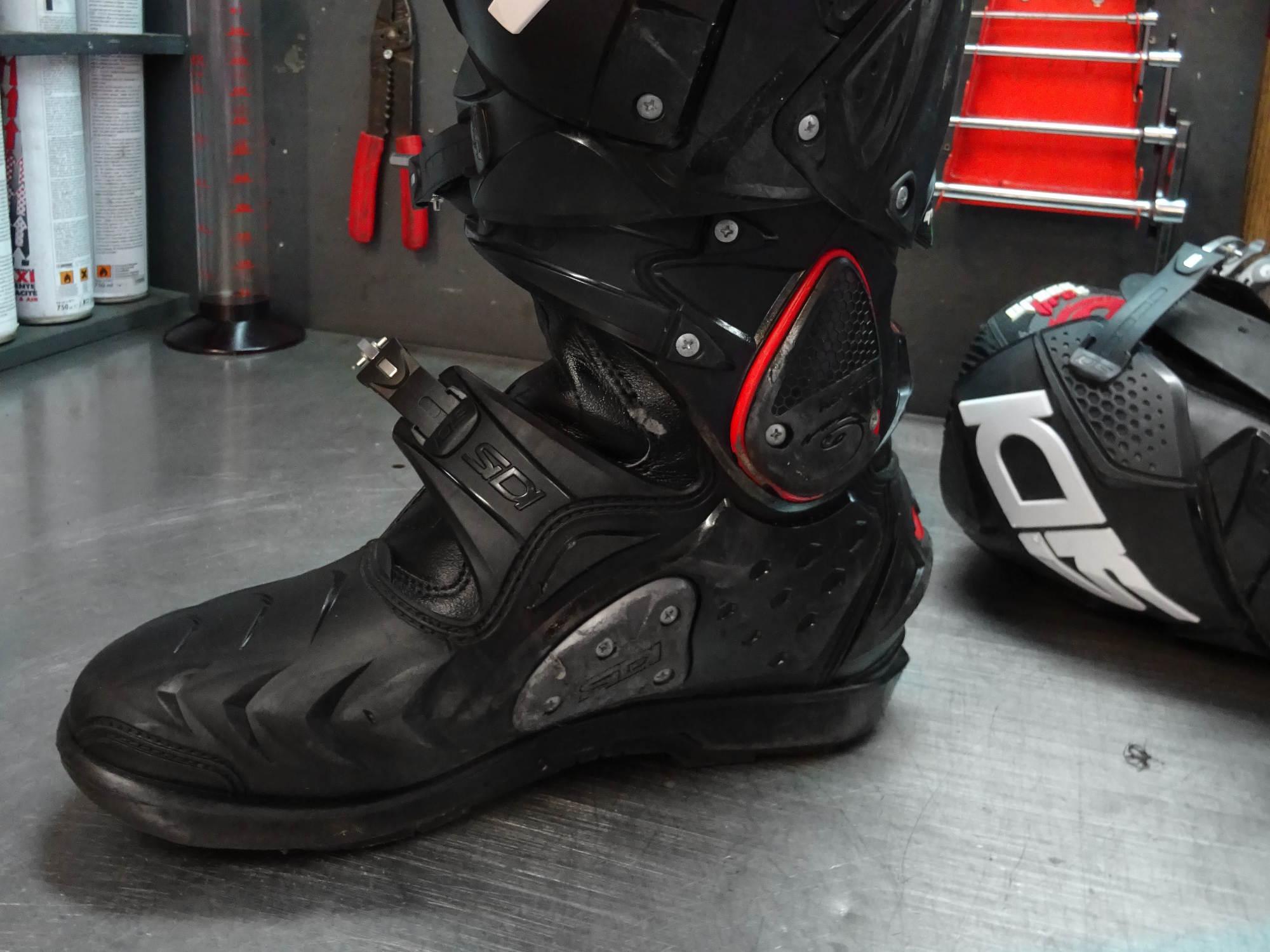 ¡En estas botas, todos los elementos atornillados son sustituibles!