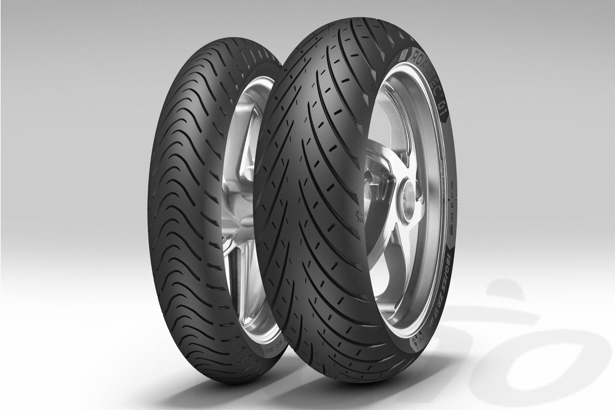 Los neumáticos para carretera Metzeler Roadtec01 están disponibles en versión HWM (Heavy Weight Motorcycles) para las motos más pesadas