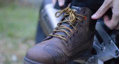 No siempre resulta fácil apretar bien los zapatos Falco Patrol