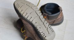 Zoom de la suela de los zapatos Falco Patrol