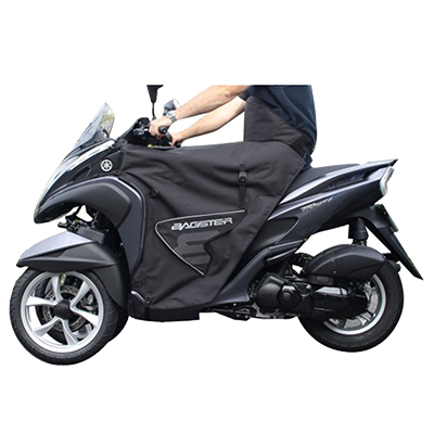Prueba: Cubrepiernas Bagster Boomerang para Yamaha Tricity