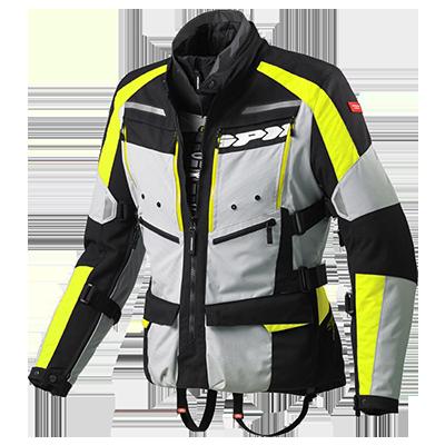 Prueba: Conjunto chaqueta-pantalón Spidi 4Season