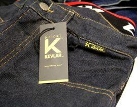 A partir de 2019, la equipación con Kevlar® se identificará mediante estas etiquetas