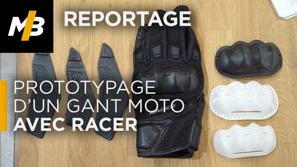 Racer: ¡Creación de un prototipo de guante para moto!