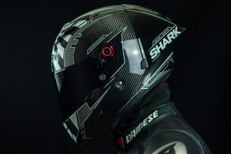 Las líneas únicas del casco Shark Race-R Pro GP