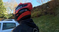 Detalle de las ventilaciones de mentonera del casco Boxxer