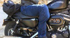 Pantalón vaquero Overlap Street: Vuelto del revés por ambas caras
