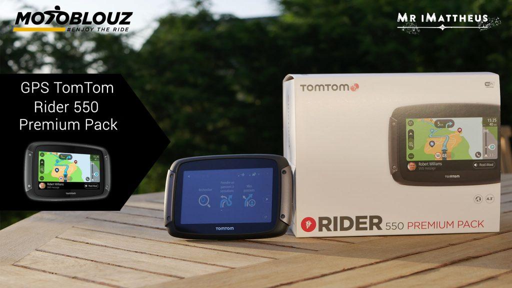 GPS TomTom Rider 550, ¿mejor que un smartphone?