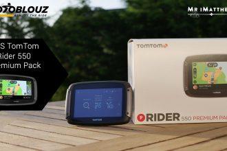 Prueba del GPS TomTom Rider 550